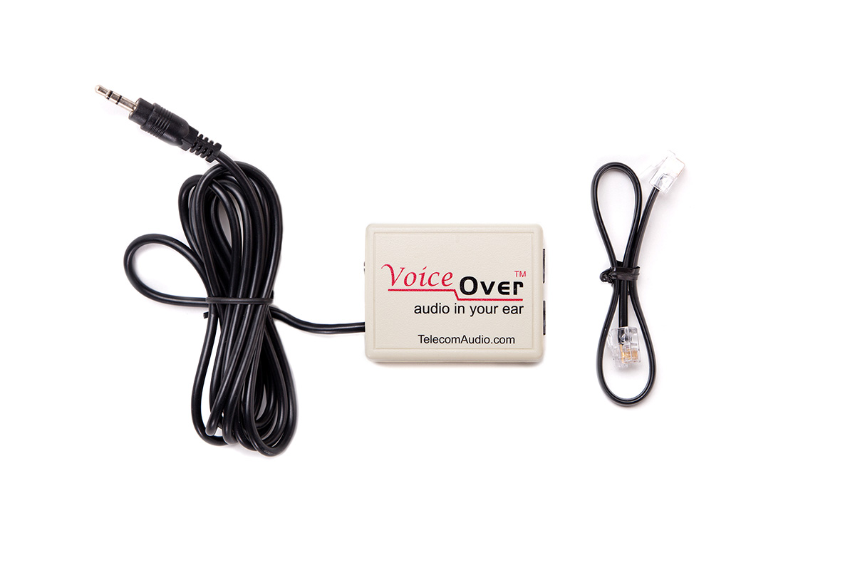 Telecom Audio Voice Over and parts included